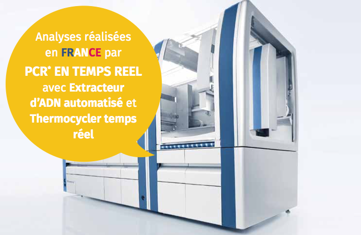 Analyse par PCR EN TEMPS REEL PAROTEST
